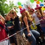 Ucieczka, marsjanie atakują czyli parada studentów